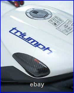 Triumph Street Triple S/R/RS 765 2017-2019 R&G Racing Carbon Fibre Tank Sliders
