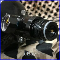 USED GI Sportz Thrust Air Systems Carbon Fiber HPA Air Tank Black 68/4500
