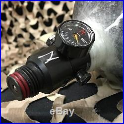 USED Ninja Grey Ghost Carbon Fiber Air Tank withAdjustable Regulator 90/4500