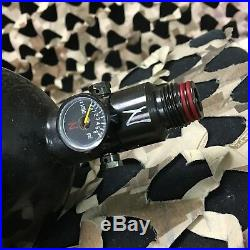 USED Ninja OLD GEN Carbon Fiber Tank withAdjustable Regulator 90/4500