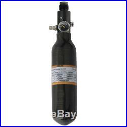 Ultralight 0.22L/13CI Carbon Fiber Cylinder 4500psi Air Tank&800psi Output Valve