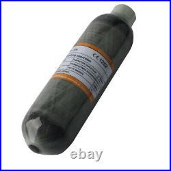 Ultralight 0.42L 4500psi Composite Carbon Fiber Cylinder SCBA Paintball Air Tank