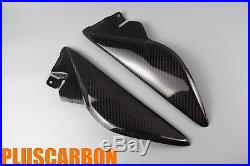 Under Tank Covers Triumph speed triple 1050 2011-2013 Carbon Fiber GLOSSY