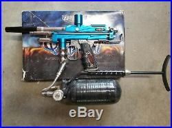 WGP Autococker Outkast paintball maker gun and carbon fiber tank. Like new