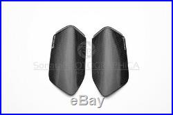 YAMAHA YZF-R1 2015-2019 Carbon Tank Sliders Protectors Strauss Gloss 100% Carbon