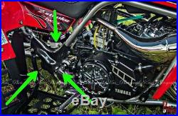 Yamaha Banshee Carbon Fiber Gas Tank And Frame Covers