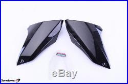 Yamaha FZ09//MT09 Side Tank Air Intake Inlet Ram Tube Scoop Covers Carbon Fiber