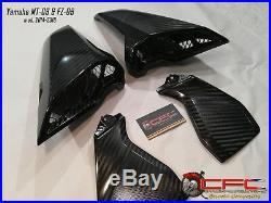 Yamaha MT-09 & FZ-09 2014 -2018 Carbon Fiber Side Air Vents Tank Panels (4pcs)