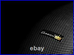 Yamaha R1 2015 To 2019 Carbon Lower Tank Side Panels Twill Gloss Weave Fibre