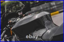 Yamaha R1 Carbon Fiber Full Tank Extender Cover WSBK Shroud Extender