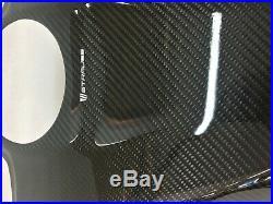Yamaha YZF-R1 2015-2019 CARBON TANK SHROUD Gloss 100% Carbon